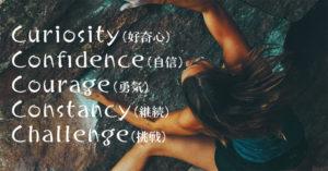 【経験談】夢をかなえる秘訣は4つと1つの「C」〜「Curiosity (好奇心)」「Confidence(自信)」「Courage(勇気)」「Constancy(継続)」そして「Challenge(挑戦)」